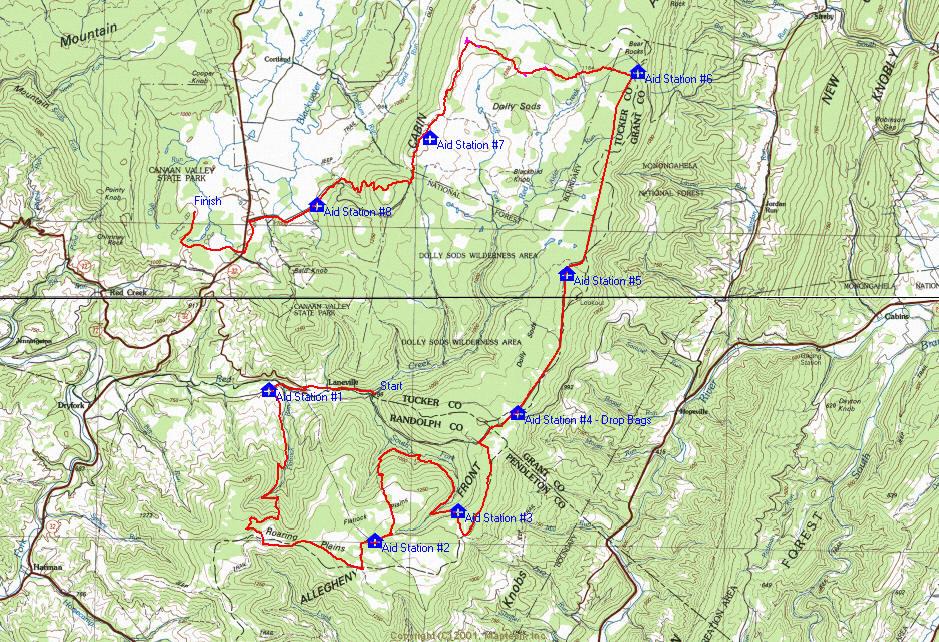 Course Description – West Virginia Mountain Trail Runners